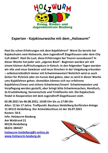 Experten - Kajaktourwoche 02.08.2021 Flyer Groß
