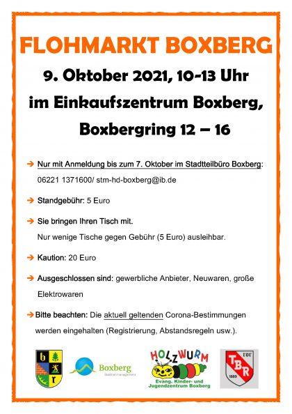 FLOHMARKT BOXBERG2021 - Kopie